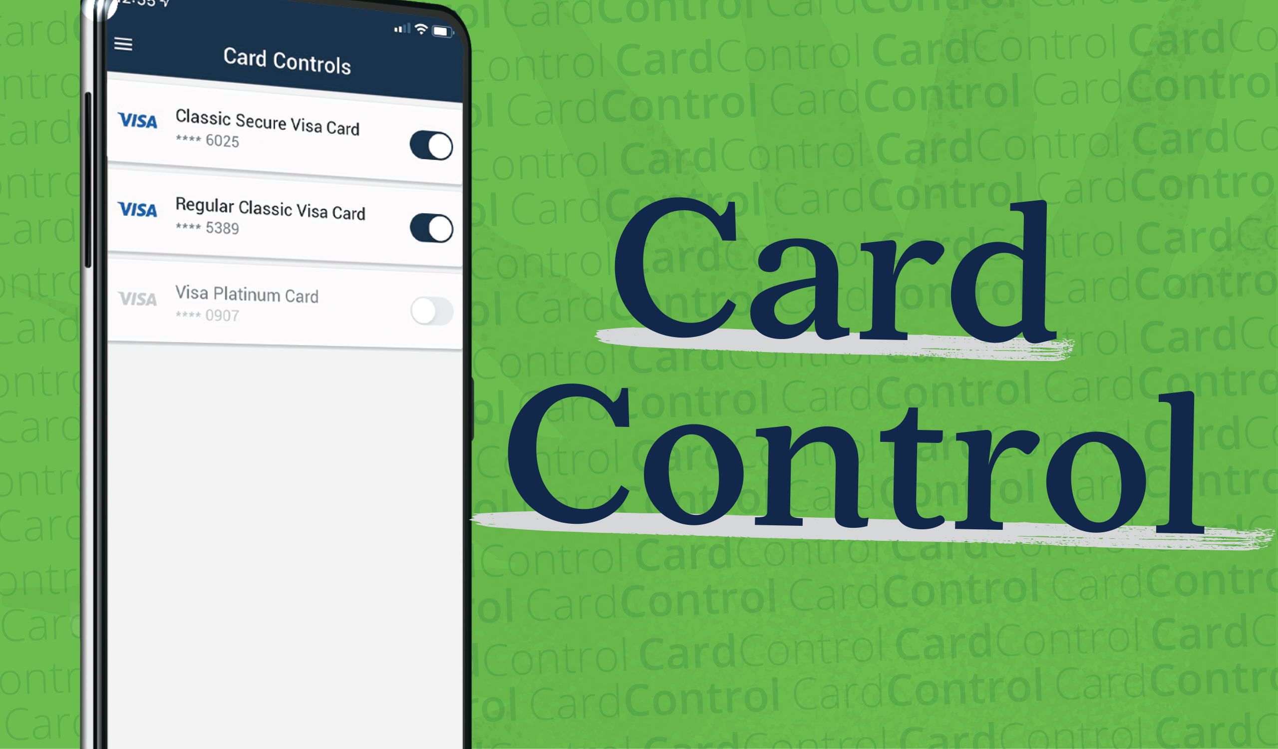 Manage your cards with Card Controls